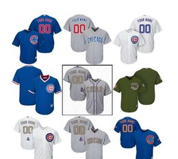 e0a0f83c1 ... Wholesale - 2016 World Series gold blue white Youth custom chicago cubs  Personalized Home Kids Customized ...