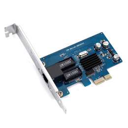 Pci exPress lan online shopping - Marvell88E805 diskless Gigabit Ethernet Network LAN PCIe Card Russia