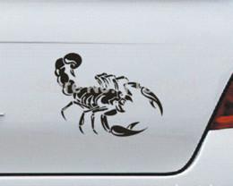 $enCountryForm.capitalKeyWord Canada - 1PCS Super cool scorpion car stickers car sticker cartoon car styling stickers automobiles motorcycles+FREE SHIPPING wholesale