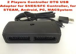 $enCountryForm.capitalKeyWord NZ - 2 Players Controller OTG USB Adaptor for SNES SFC Controller, for STEAM, Android, PC, MACSystem