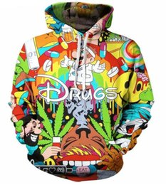 Wholesale men cartoon jackets online – oversize New Fashion Couples Men Women Unisex Cartoon Super Mario D Print Hoodies Sweater Sweatshirt Jacket Pullover Top S XL T24