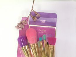 tarte makeup brush set. magic wands brushes set tarte makeup 5pcs high performance naturals dhl free shipping brush