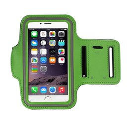 $enCountryForm.capitalKeyWord NZ - WaterProof Sports Armband Case With Key Holder for iPhone 7 Plus 6 6S Plus 5 5S Running Jogging Workout Pounch For Cell Mobile Phone