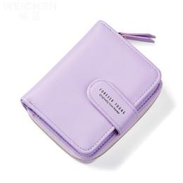 Korea phone holder online shopping - 2017 New Wallet Lady Short Purse Japan Korea Style Simple Fashion women coin purse zipper brand money change wallet