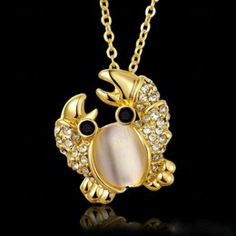 Opal pendant designs canada best selling opal pendant designs from 3 photos opal pendant designs canada fashion women high quality jewelry crab pendant necklaces opal 18k gold aloadofball Images