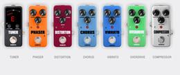KOKKO FOD2 FDD2 FOD5 FRB2 FLP2 FTN2 Mini Efecto de guitarra Sobrecarga distorsión analógica retardo reverberación grabación de compresión Pedal de guitarra en venta