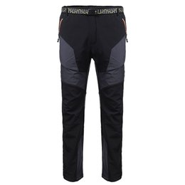 Barato Cintura Ajustável Calças Atacado-Atacado- M-3XL Winter Skiing Pants Men Warm Pants Snowboard Outdoor Hiking Waterproof ajustável cintura calças Camping Breath Snow Pants