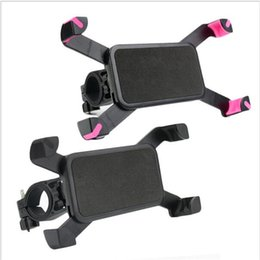 Discount universal gps holders - Universal Bicycle Phone Holder 3.5-7 inch Width Antiskid Bike Phone Mount Mobile Phone Support For iPhone 7 6 plus For S