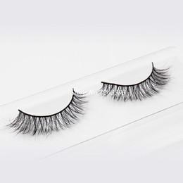 $enCountryForm.capitalKeyWord Canada - 2017 Hot Natural Crisscross Messy Soft Realistic Fake Eyelashes 100% Real Mink False Eyelashes Beauty Makeup Stage Lashes