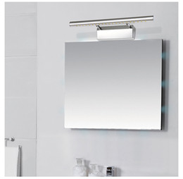 5w7w9w LED Mirror Lights Vanity Light Bathroom Make Up Wall Picture Front Lamp With Switch 28cm 40cm 55cm 70cm