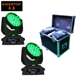 $enCountryForm.capitalKeyWord Australia - Road Case 2in1 Packing 108x3W Led Moving Head Wash Light 12 DMX Mode Smooth RGBW Color Liner Dimmer for Theater Club Use 90-240V