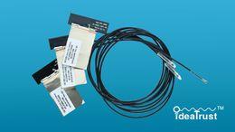 Discount wireless antenna laptop - Wholesale- 60CM IPEX4 Laptop WiFi Internal antenna Antennas NGFF MHF4 Antenna for BCM94360HMB BCM943602CS 8260NGW 8265NG