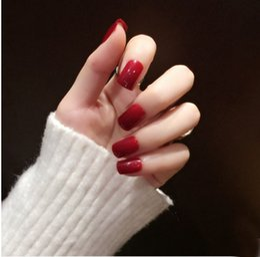 $enCountryForm.capitalKeyWord Australia - New Design Fake nail tips Diamond Shining Nails Bling Bling Birde nails art decoration full cover nail tips bride nails art decal 3d nail