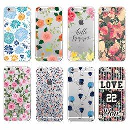 $enCountryForm.capitalKeyWord Canada - Floral Flowers Rose Daisy Cherry Blossom Trendy Fashion Cute Soft Phone case For Samsung Galaxy S8 S9 S8PLUS S6 S7 edge