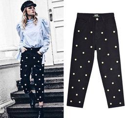 $enCountryForm.capitalKeyWord Canada - Black Pearl Jeans Women Straight High Waisted Jeans Ladies Plus Size Denim Pants Trousers Drop Shipping