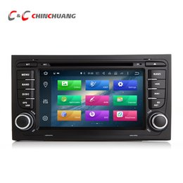 Gps For Audi NZ - Updated 4G RAM Octa Core Android 8.0 Car DVD for Audi A4 with Radio GPS Navi Wifi DVR Mirror Link