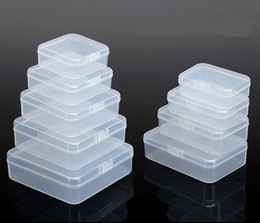 Place box online shopping - Transparent Storage Boxes Chip Placed Plastic Case Small Cale Thing Packing Box Made Of PP Material Handily Collections Container b Rc D