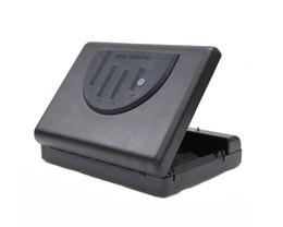 wholesale free shipping 500sdt pistol jewelry safe portable biometric fingerprint gun pistol safe handgun safe box security box