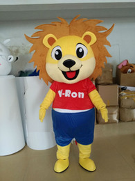 Halloween Costume Lion Canada - Lion mascot costumes props costumes Halloween free shipping
