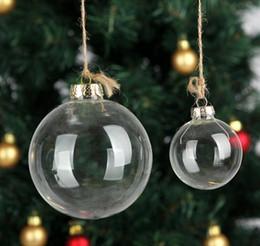 "Clear Balls Australia - Christmas Xmas Glass Balls Decoration 80mm Christmas Balls Clear Glass balls 3""   80mm Christmas Ornaments wen4305"