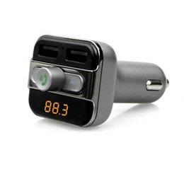 $enCountryForm.capitalKeyWord NZ - New BT20 Multifunction 4-in-1 Bluetooth Car Radio Adaptor Handsfree FM Transmitter MP3 Music Player 5V 3.4A Dual USB Car charger