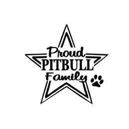 window cooler Canada - Cool Graphics Car Stying Proud Pitbull Pit Bull Car Motorcycle Vinyl Decal Decorative JDM