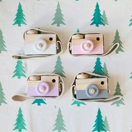 $enCountryForm.capitalKeyWord Canada - Baby Kids Cute Wood Camera Toys Children Fashion Clothing Accessory Safe And Natural Toys Birthday Christmas Gift