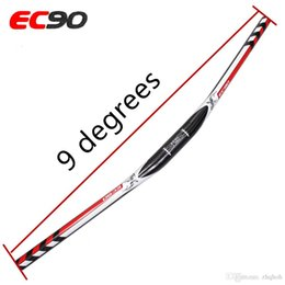 bicycle riser handlebars 2019 - EC90 mtb bicycle full carbon fiber Riser bike handlebar MTB bicycle handlebars 31.8* 640 660MM 1PCS