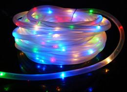 100 Leds Fairy Lamp Solar Power Rope Tube 50 Led String Light Outdoor Light  Garden Christmas Party Decor Waterproo LLFA