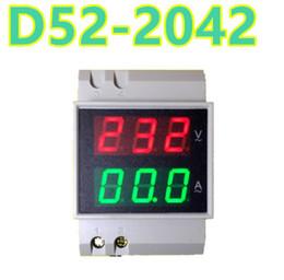 $enCountryForm.capitalKeyWord Australia - D52-2042 2 In 1 Dual LCD Display Rail Digital Voltage Current Meter Ammeter Voltmete AC80-300V 99.9A