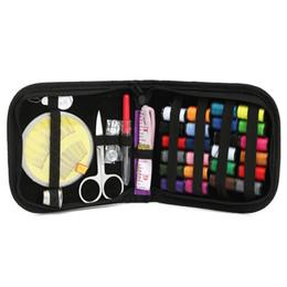 DIY 12 иглы ленты ножницы многофункциональный потоков швейные наборы портативный полезные путешествия домой инструменты