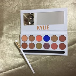 Barato Sombras Do Kit-50pca New Kylie Holiday Edition Cosméticos Jenner Kyshadow sombra de olho Kit The Royal Paladar Paladar Sombra de olhos 12 cores