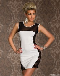 $enCountryForm.capitalKeyWord Australia - Party Dress Women Fashion Sexy Dress Hot Club Wear New Summer Lady Two Dresse White and Black Colors ( Size: M )