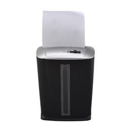 Directo de fábrica Mini trituradora de papel eléctrica sección oficina personal oficina en casa trituradoras hogar pulverizador cuasi granular mudo más seguro en venta