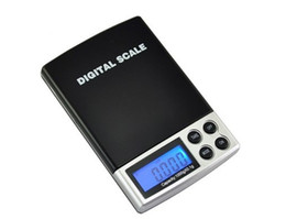 Discount electronic pocket scale pcs 2017 50 PC Portable LCD Mini Electronic Balance Weight Scale Pocket Jewelry Diamond Weighting Scales 1000g x 0.1g