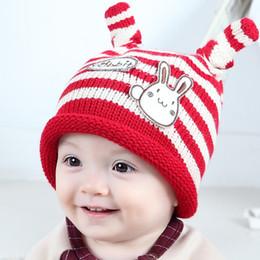 0e344d8bee2 Newborn Babys NZ - Newborn caps Autumn Winter Baby Children warm hat 4  colors Knitted Cute