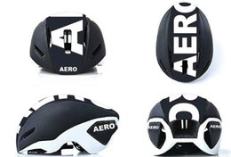 Mtb helMets online shopping - 2018 New Fashion Brand Logo AERO MTB Road Bike Bicycle Cycling Helmet Ultralight Integrally molded UVEX AERO HALF SHELL Size M cm EPS