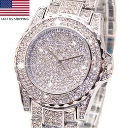 Venta al por mayor de 2018 Relojes de las mujeres de las señoras de moda vestido de diamantes reloj de pulsera de cuarzo reloj de pulsera de lujo de alta calidad venta caliente