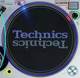 2 unids / lote Record Player Phono Audio technica LP Turntable SL1200 1210 MK2 MK5 PARA TECHNICS STICKER calcomanía emblema