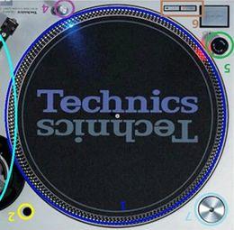 Lecteur de disque 2pcs / lot Phono Audio technica Platine vinyle SL1200 1210 MK2 MK5 POUR Stickers TECHNICS STICKER