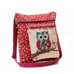 EmbroidEry lady bags online shopping - 2017 New Arrival Women Handbag Fashion Leisure Single Shoulder Bag Owl Printed Casual Tote Daily Use Shopping Ladies Handbag