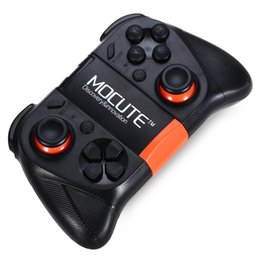 Ps4 controllers original online shopping - Original MOCUTE Wireless Bluetooth Gamepad PC Game Controller for Smartphone TV Box With Built in Foldalbe Holder Joystick