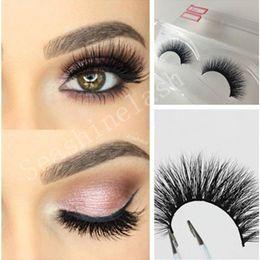 $enCountryForm.capitalKeyWord NZ - 3D Natural Mink Bushy Cross False Fake Eyelashes Factory Price High Quality Mink Hair Handmade Eye Lashes For make up