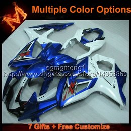 Fairing K9 Australia - 23colors+8Gifts BLUE WHITEmotorcycle cowl for Suzuki GSXR1000 K9 2009-2012 09 12 GSX-R1000 09 10 11 12 ABS Plastic Fairing