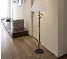 american retro antique floor lamp led classic rust color metal floor lighting
