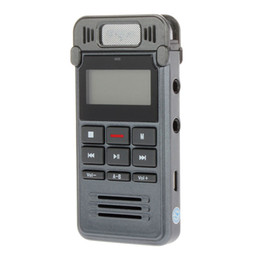 China Wholesale- New Voice Recorder Slim Rechargeable 8GB 650HR Digital Audio Voice Recorder Dictaphone MP3 Player HQ Recorder gravador de voz cheap slim mp3 player suppliers