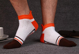 Cheap Cotton Sports Socks NZ - hot sale wholesale cheap price sports cotton men five toes fingers cute tube men breathable socks