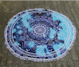 Bohemian tapestries online shopping - New Design Round Mandala Beach Towels Printed Tapestry Bohemian Beach Towel Covers Beach Shawl Wrap Yoga Mat Serviette Blankets