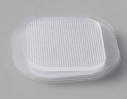 $enCountryForm.capitalKeyWord NZ - 600pcs DHL 4*4cm replacement square conductive adhesive gel pads sheet Belt electrode,EMS electrodes gel,medical pad parts