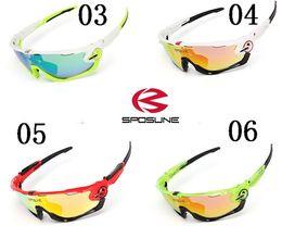 56771772cf High Quality Fashion JAW Sports Sunglasses Polarized Women Men 9270  Interchangeable 3 Lens Jawbreaker Cycling Eyewear With Box